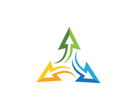Icona Logo Template icona illustrazione vettoriale Archivio Fotografico - 96111798