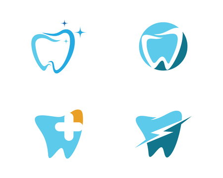Various design for Dental Template vector illustration icons Illustration