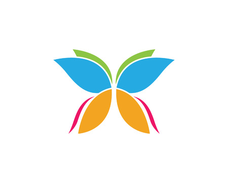 Butterfly Logo Template Vector icon design