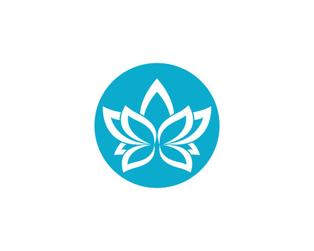 Nice vector flowers design template icon