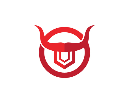 Great taurus template vector icon illustration design  イラスト・ベクター素材