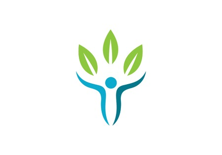 Healthy Life Logo template icon