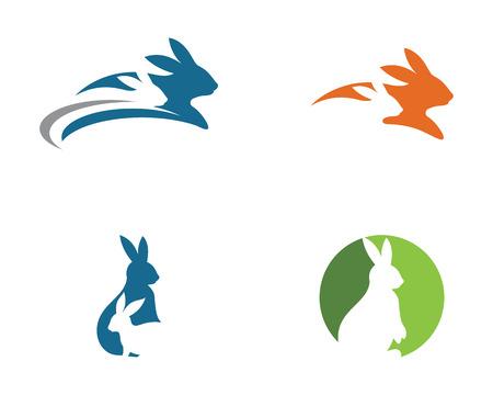 Rabbit Icon design set