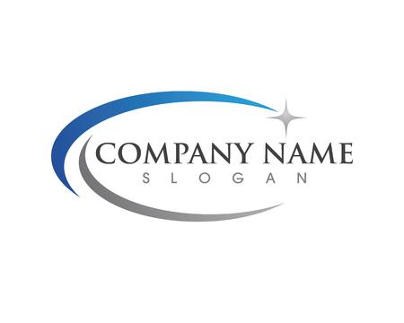 Faster Logo concept template design. Ilustracja