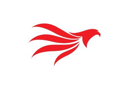 Falcon Logo Template vector icon