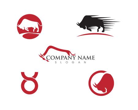 Taurus Logo Template vector icon illustration design