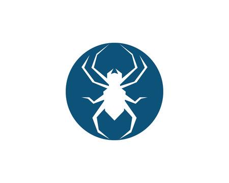 Spider Logo design vector illustration design template
