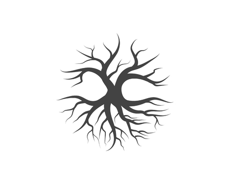 A Logo of green Tree leaf ecology nature element vector Çizim