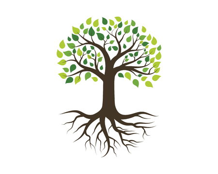 Tree icon template vector illustration design
