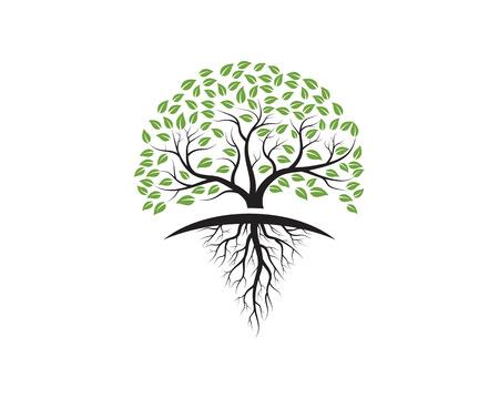 Tree icon template vector illustration design.