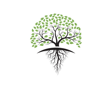Tree icon template vector illustration design. Banco de Imagens - 99200833