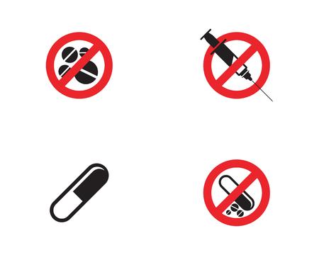 Prohibited Medical Drug icon