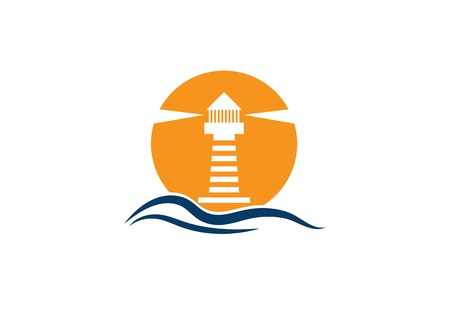 Light House Logo Template