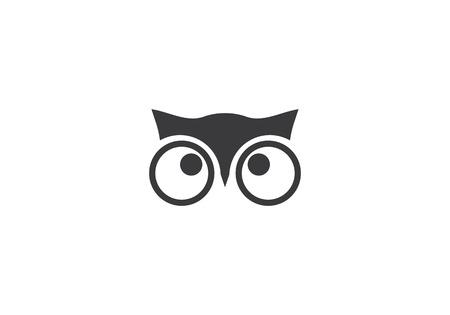 Owl logo template vector icon Stock Vector - 99552665