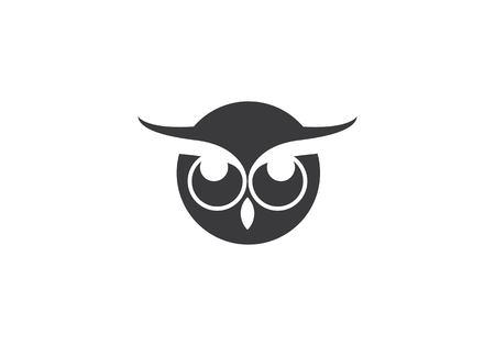 Owl logo template vector icon Stock Vector - 99631773