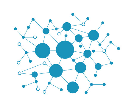 Network and social icon vector illustration design template