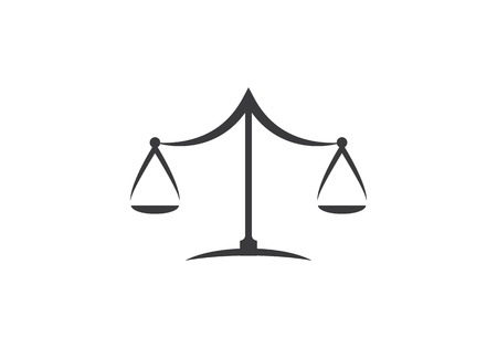 Law Logo Template vector icon illustration design