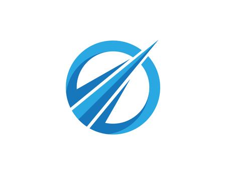 Faster Logo Template vector icon illustration design 矢量图像