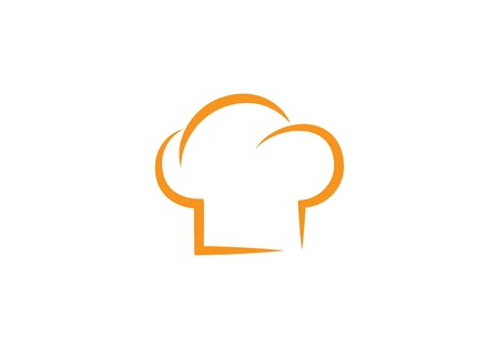 Hat Chef template vector icon Illustration