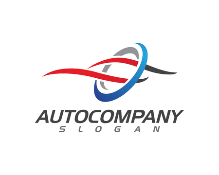 speed Auto car Logo Template vector illustration icon design Illustration