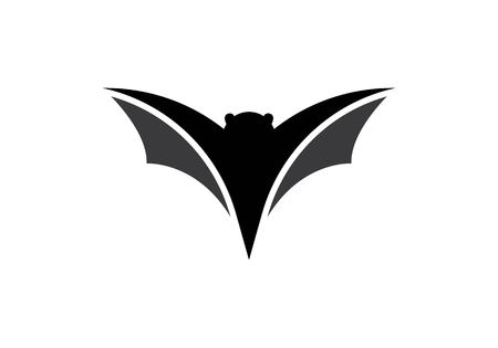 Bat logo vector icon template