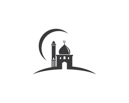 Moslem icon vector Illustration design template Stock Vector - 104006803