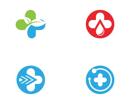 icono de la salud ilustración de diseño de la plantilla médica