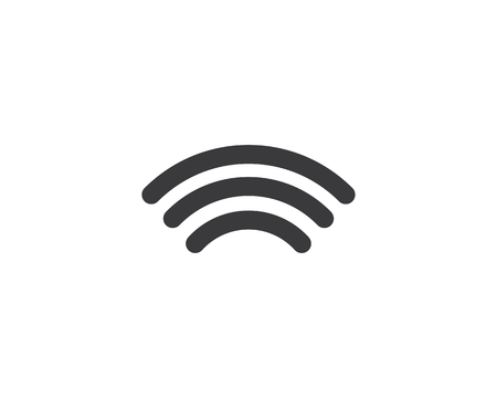 wireless icon illustration template design