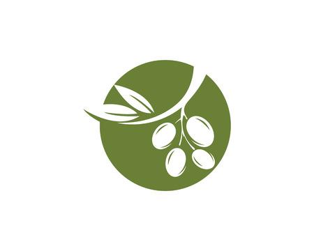 Olive  icon illustration design