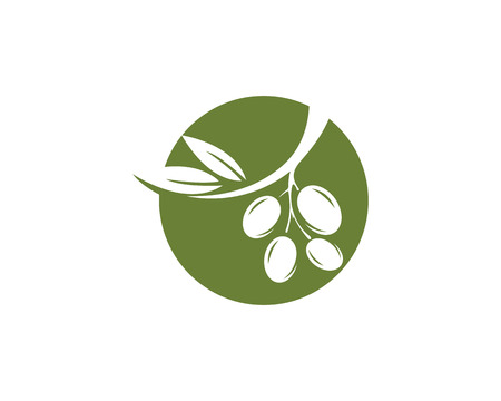 Olive  icon illustration design