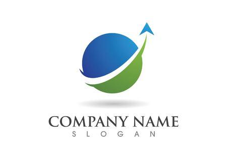 Diseño de ilustración de icono de vector de plantilla de logotipo más rápido
