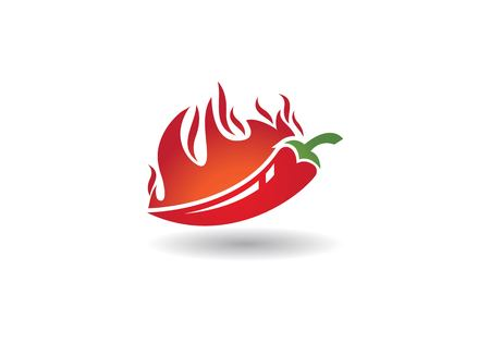 Hot Chili vector icon illustration design