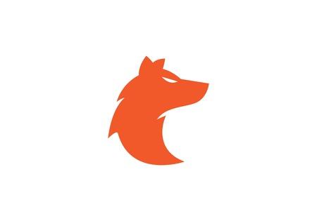 Wolf Logo Vorlage Vektor-Symbol Illustration Design
