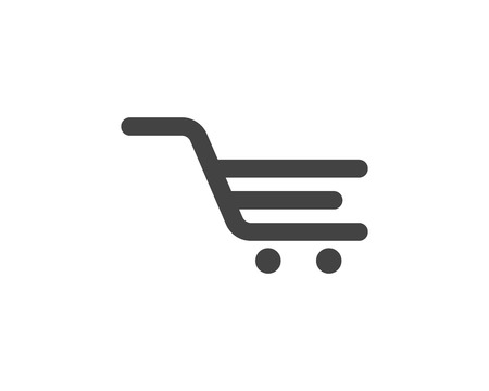 Shop, store basket vector icon Template illustration design