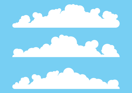 Cloud template vector icon illustration design background