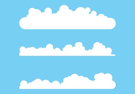 Cloud template vector icon illustration design background Illustration