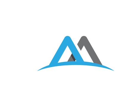 M Letter Logo Template Vector illustration design Logo