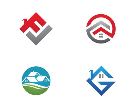 Création de logo immobilier, immobilier et construction Logo