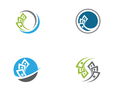 Business Finance Logo Vorlage Vektor Icon Design Logo