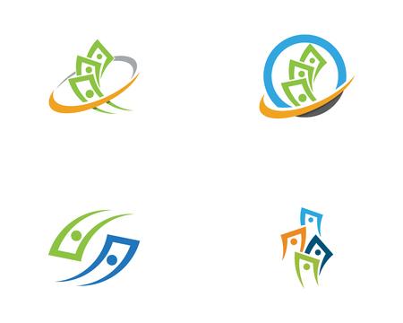 Business Finance Logo template vector icon design