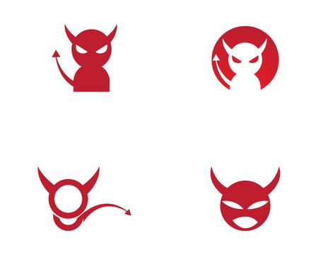 Devil horn Vector icon design illustration logo Template ЛОГОТИПЫ