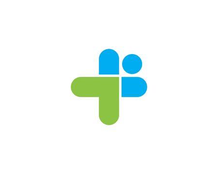 Health Medical Logo template vector illustration design Ilustração