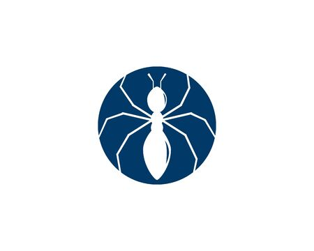 Ant Logo template vector illustration design Banque d'images - 132260990