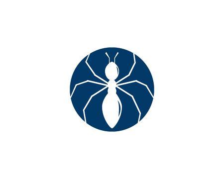 Ant Logo template vector illustration design Illustration