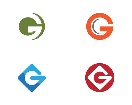 G Letter vector illustration icon Template design