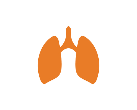 lungs icon vector illustration design