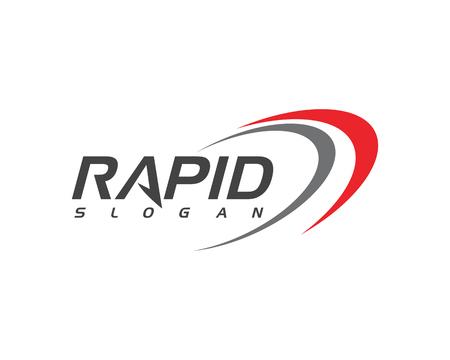 Rapid vector design illustration template Ilustrace
