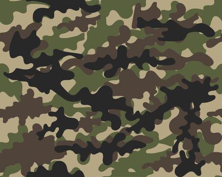 Tekstura kamuflażu wojskowego powtarza bezszwową ilustrację armii