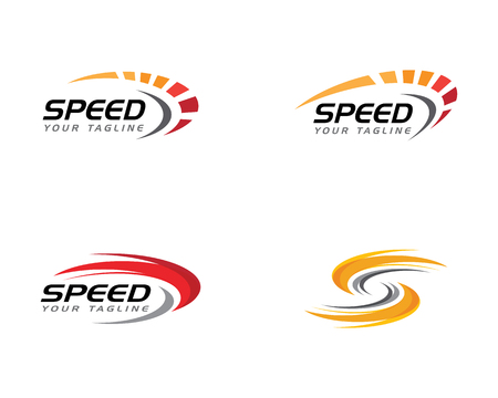 speed icon simple design illustration vector