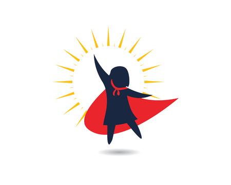kids super concept vector illustration icon design Ilustração Vetorial